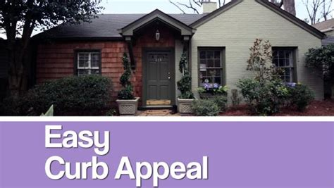 Budgetfriendly Curb Appeal Tricks Hgtv