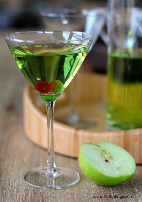 green appletini joyful scribblings