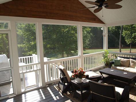 screen porch enclosures richmond screened  porches