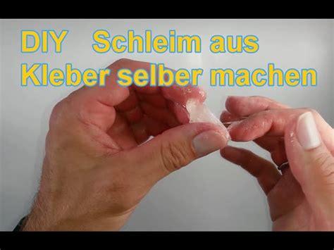 glibber schleim aus kleber und wasser selber machen diy tutorial glibbi slime