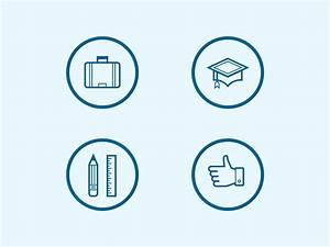 Resume Icons by Steve Schoger Dribbble