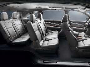 Dodge Durango Captains Seats by New Cars With 3rd Row Seating Release Reviews And Models