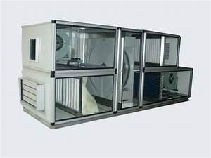 China Ahu With Heat Recovery Wheel  Tm250-6