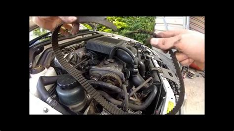 4efte broken timing belt removal