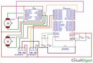 Line Follower Robot Using Avr Microcontroller Atmega16