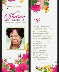 21 funeral bookmark templates free sample example With free memorial bookmark template download