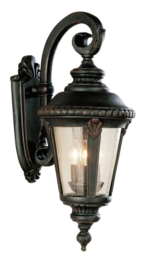 trans globe 5044 rt stonebridge outdoor wall mount lantern