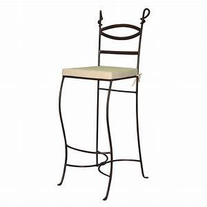 Tabouret De Bar Fer : tabouret de bar cabras fer forg meuble classique ~ Dallasstarsshop.com Idées de Décoration