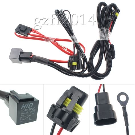 Drl Relay Wiring Harness For Hid Conversion Kit