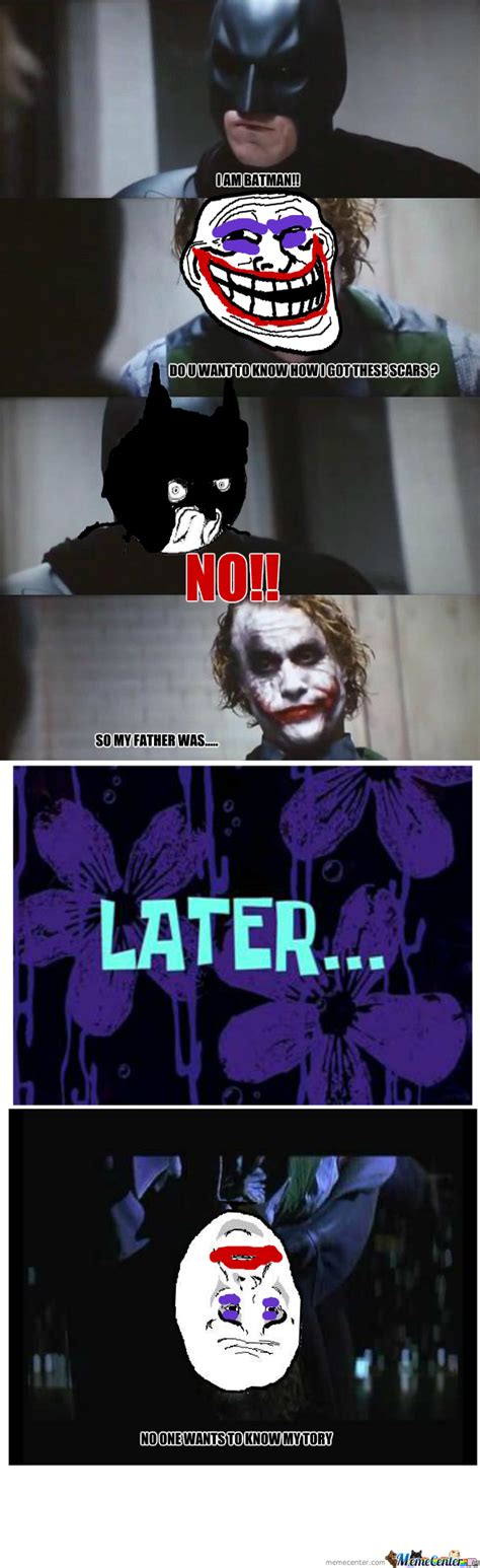 Batman Joker Meme - batman vs joker by darkmemer92 meme center