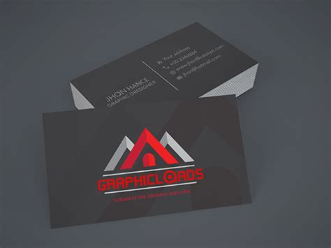 business card templates graphicloads