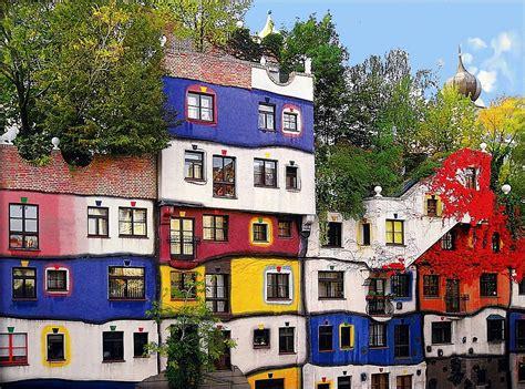 Hundertwasser House  Vienna  The Hundertwasser House