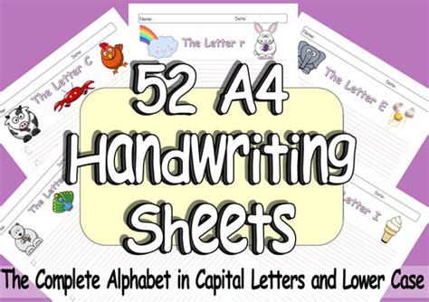 pages  eyfs  ks handwriting practice  sheets