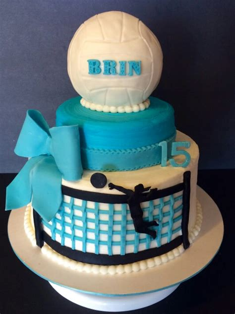 brinlies volleyball cake wicked delicious cakes