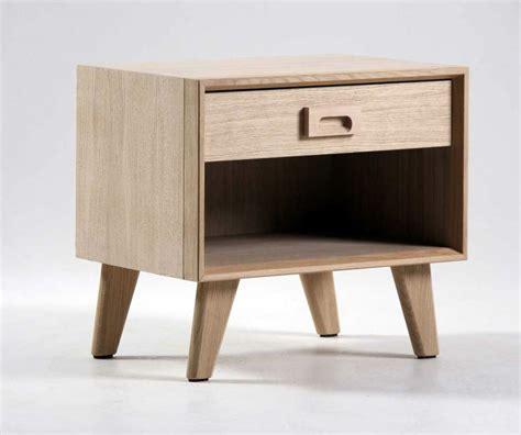 table chambre chevet scandinave 1 tiroir brin d 39 ouest