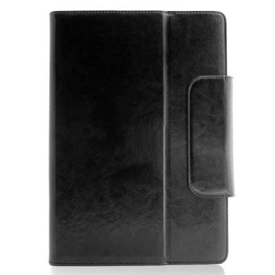 universal  leather tablet case debossed text