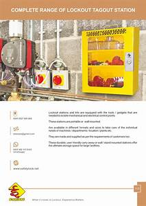 Lockout Tagout Station By E