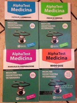 libro alpha test medicina prove manuale di filotea xxxi edizione cuneo posot class