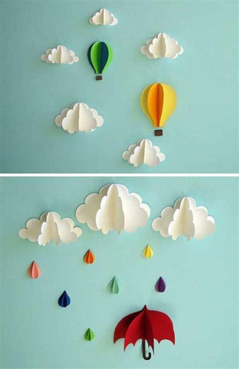 inspirasi kreasi hiasan dinding  kertas