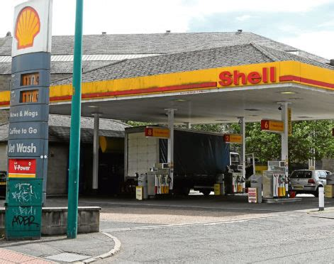 Shell Garage Road by Banned From Scotland Jailed After Dodging Perth To