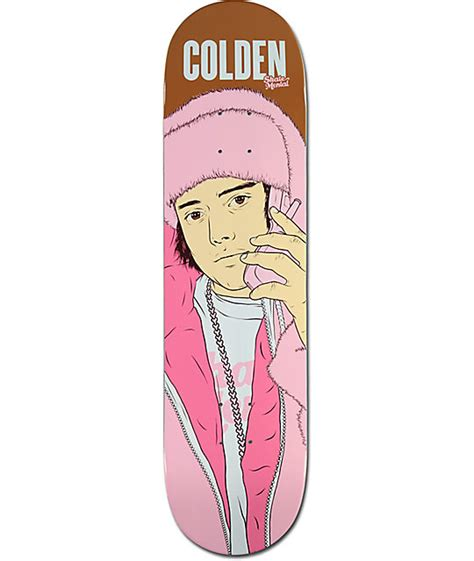 skate mental decks 80 skate mental colden all pink everything 8 0 quot skateboard