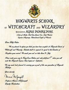 personalized harry potter acceptance letter hogwarts With personalized harry potter acceptance letter