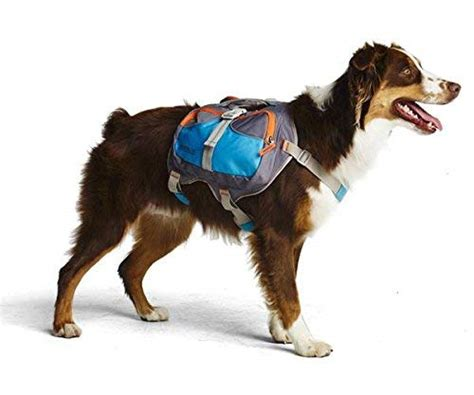 dog backpack cesar millan dogs backpacks saddle pet weight medium bags training canine saddlebag water hold hiking behavior plenty pockets