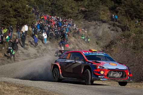 hyundai misses monte carlo win   seconds  thrilling