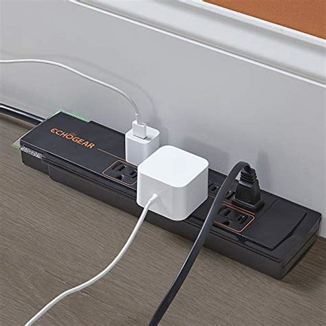 surge protectors gaming pc echogear outlets protector strip low power