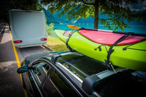 roof kayak tie rack racks kayaks suv camperville tips rv behind driving guide transporting soft