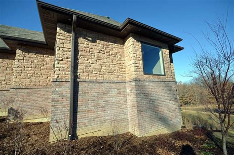 retaining walls  walk  basement details custom homes  tompkins construction