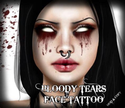 life marketplace corvus blood tears tattoo