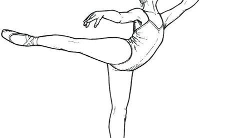 coloriage de danseuse classique  imprimer danse classique
