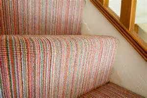 Stair Carpets Striped by Case Study 01 Bright Finely Striped Stairs Amp Landing