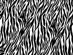 White Tiger Stripes Pattern