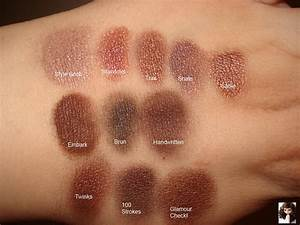 Productrater!: Updated MAC Eyeshadow Collection and Swatches