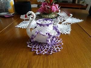 Set De Table Au Crochet : napperon rond mon blog de crochet et aiguilles crochet napperon crochet et nappe crochet ~ Melissatoandfro.com Idées de Décoration