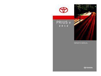 car repair manuals online pdf 2012 toyota prius c parking system 2012 toyota prius v owner s manual pdf 567 pages