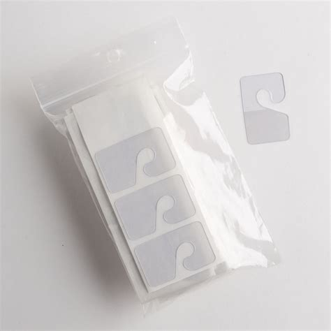Clear Hang Tabs with Hook (100 pcs.)