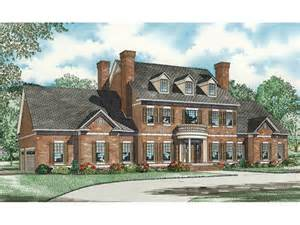 colonial luxury house plans saltsburg luxury georgian home plan 055s 0081 house plans and more