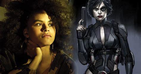 actress of deadpool movie quot atlanta quot actress zazie beetz cast as quot domino quot in