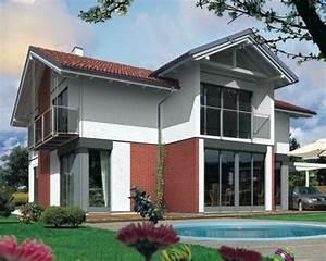 Classiche case con tetto a due falde