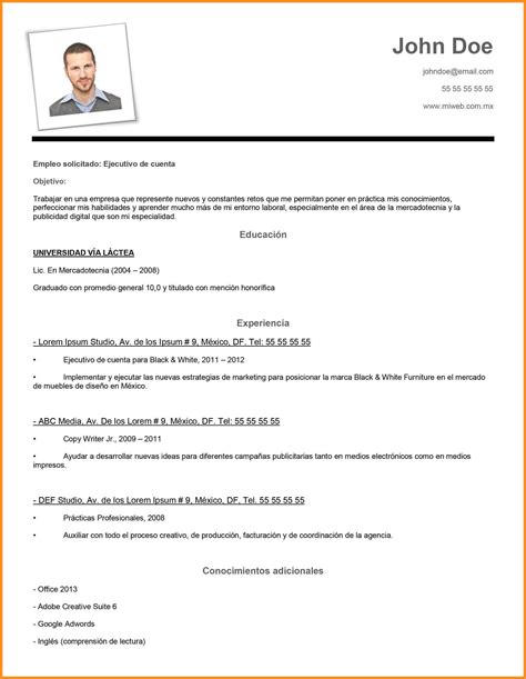 7 curriculum vitae word simple odr2017