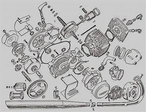Honda Z50 Engine Exploded View Pic2flycomhondaz50engine