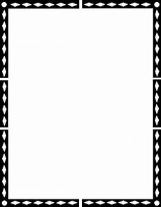 Black History Month Border Paper Pictures to Pin on ...