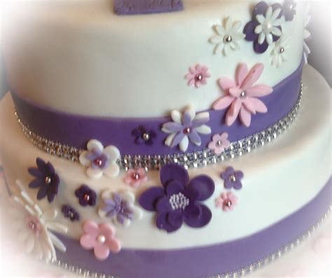 fondant torte blumen dekoration fondant cake flower decoration torten