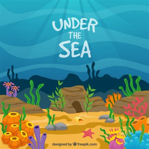 Under The Sea Vectors Photos Psd Files Free Download