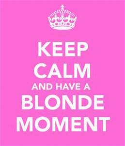 15 Best Blonde ... Funny Blonde Quotes