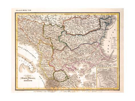 Ottoman Europe by Empire Ottoman Europe Map Heck 1842 Mapandmaps