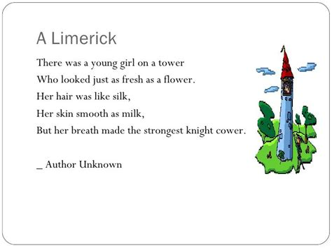 limerick poems definition poemview co